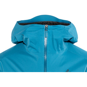 Black Diamond Stormline Chaqueta Stretch Rain Shell Hombre, kingfisher
